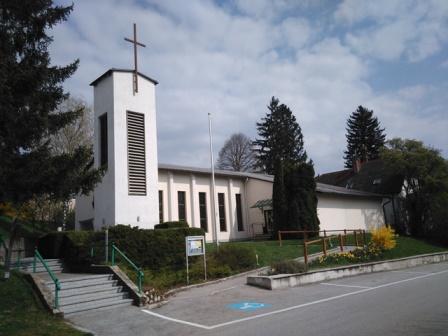 Foto der Dreieinigkeitskirche von Pfr. O. Knoll