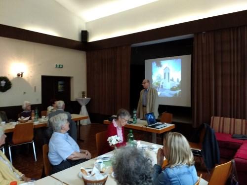 Vortrag Kurt Schlieben im evangelischen Gemeindesaal