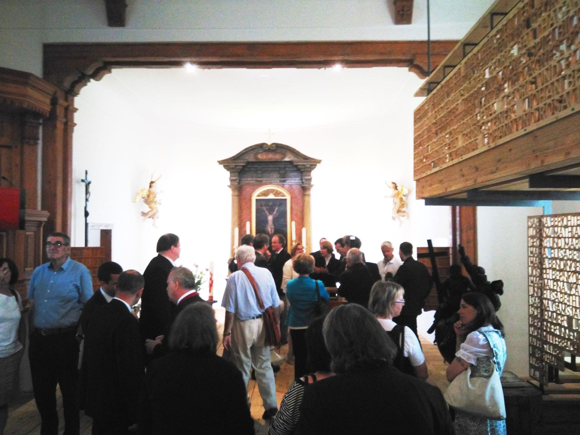 Evangelische Kirche Mitterbach innen