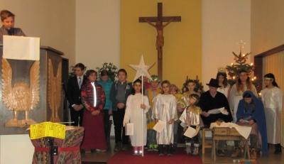 Krippenspiel Heiliger Abend Dreieinigkeitskirche