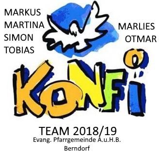 LOGO Konfi-Team 2018/19