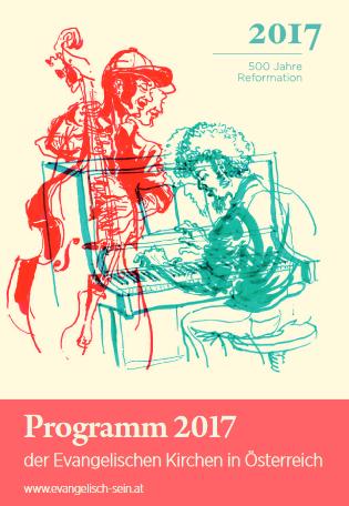 Deckblatt Programmheft Lutherjahr 2017 Österreich